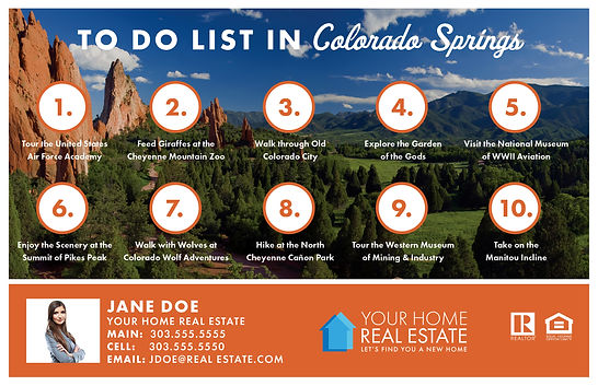 To Do List Colorado Springs Template