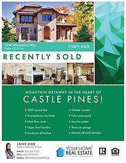 Tessellate Emerald Flyer & Brochure