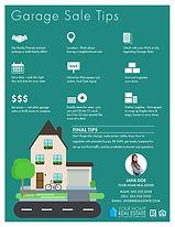 Garage Sale Tips Infographic Flyer