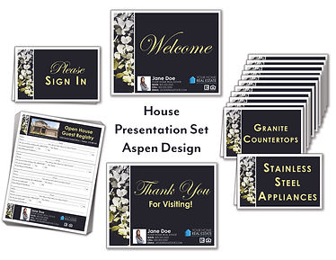 Aspen House Presentation Set