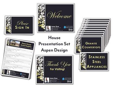 Aspen House Presentation Set
