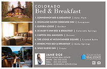 Bed & Breakfast Template Jumbo Postcard
