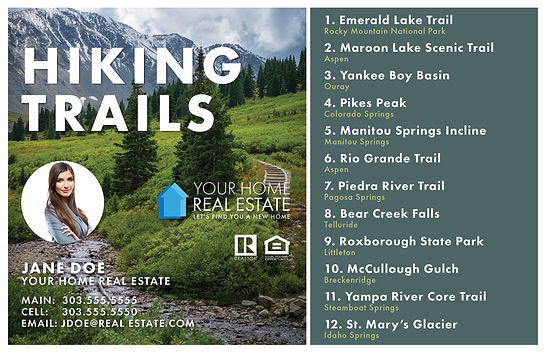 Hiking Trails Template