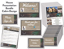 Cabin House Presentation Bundle