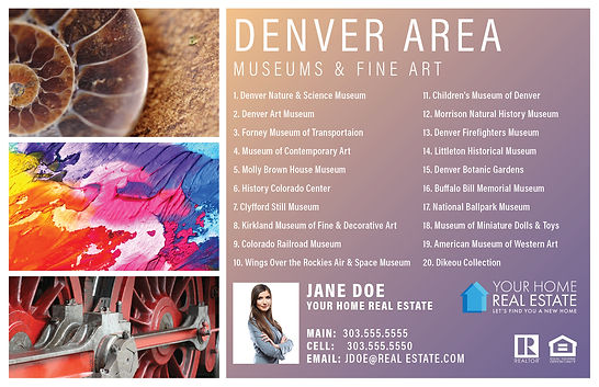 Denver Museums & Fine Art Template