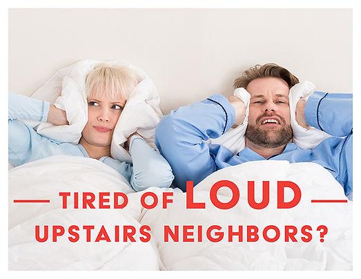 Loud Upstairs Neighbors Postcard