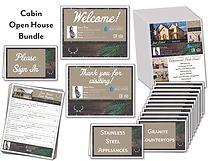 Cabin Open House Package