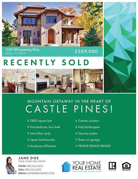 Tessellate Emerald Template Flyer