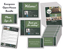 Evergreen Open House Package