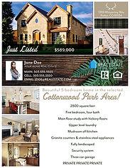 Cabin Flyer & Brochure