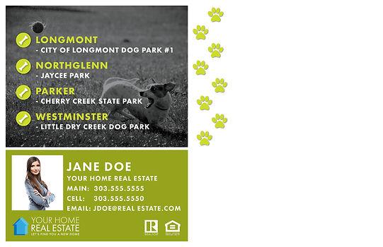 Dog Parks Template Back