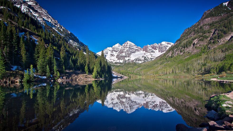 Colorado mountain picture