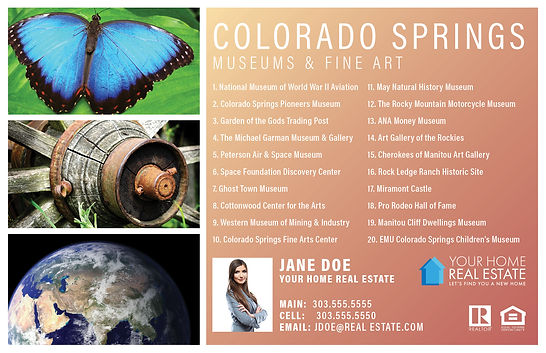 CO Springs Museums & Fine Art Template