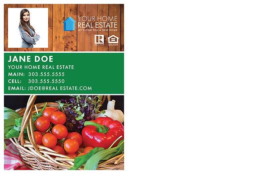 Farmers' Market Template Back