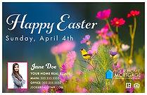 Easter 3 Postcard