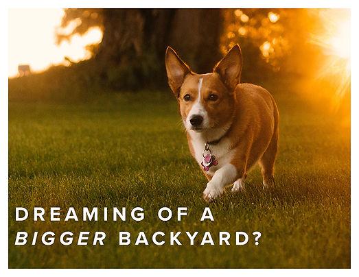 Bigger Backyard Postcard