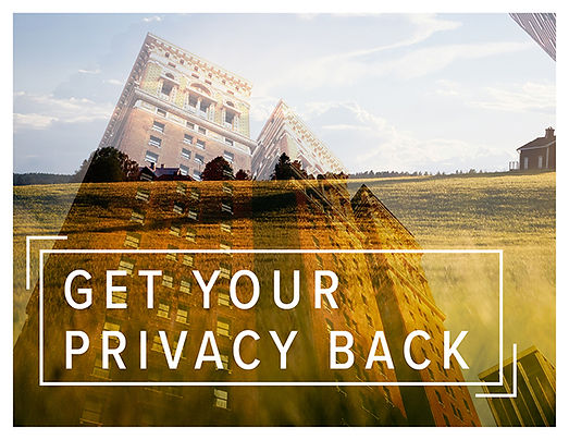 Get Your Privacy Back Template