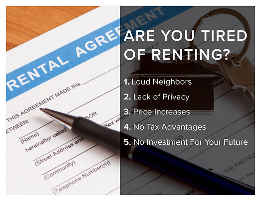 Tired of Renting Template