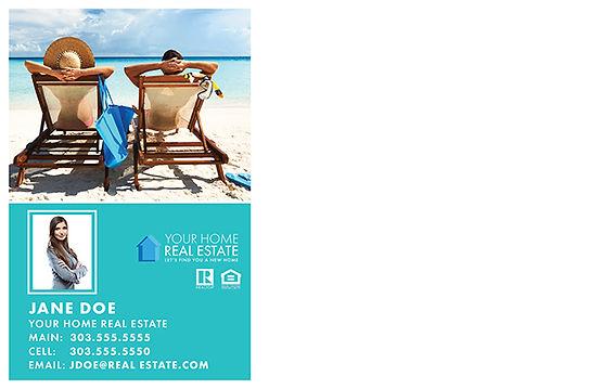 Vacation Checklist Postcard (Back)