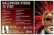 Halloween Stores Postcard