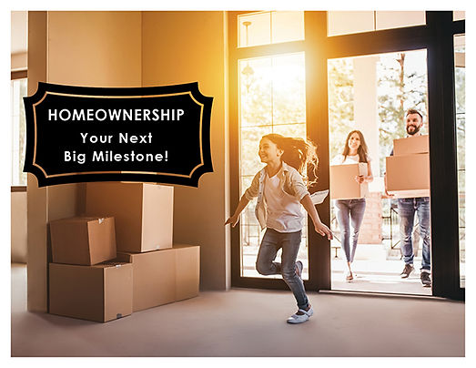 Homeownership Big Milestone Template