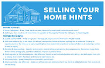 Selling Your Home Hints Postcard