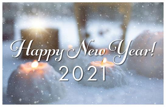 New Year 1 Postcard
