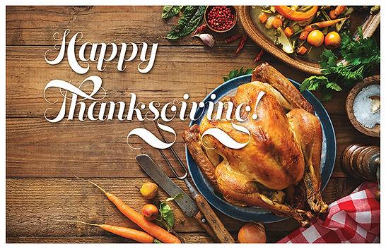 Happy Thanksgiving 3 Postcard