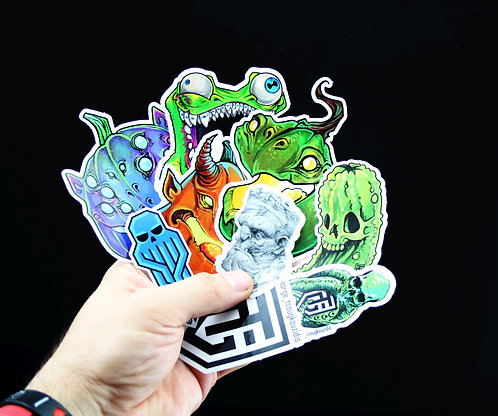 Stickers bundle pack of 9