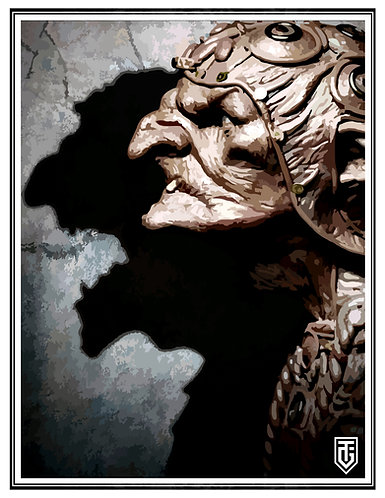 Goblin shaman Small Poster