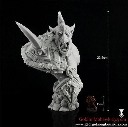 Goblin Mohawk bust