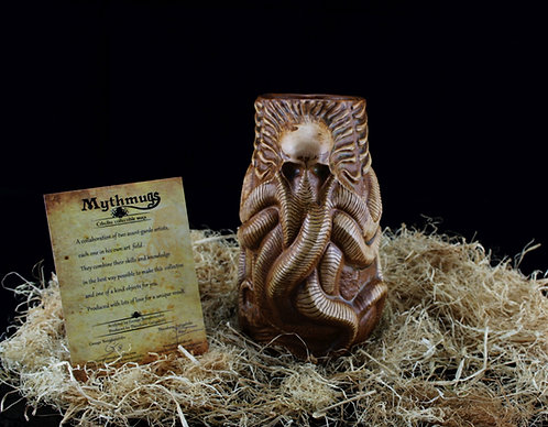 Cthulhu Cocktail mug Brown ver.