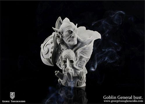 Goblin General bust