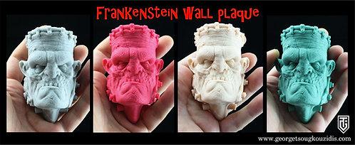 Frankenstein wall plaque