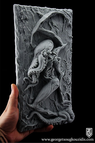 Call of Cthulhu wall plaque