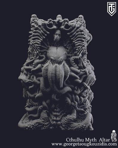 Cthulhu Myth Altar unpainted ver.