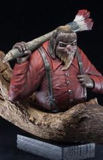 Lumberjack Beaver Bust
