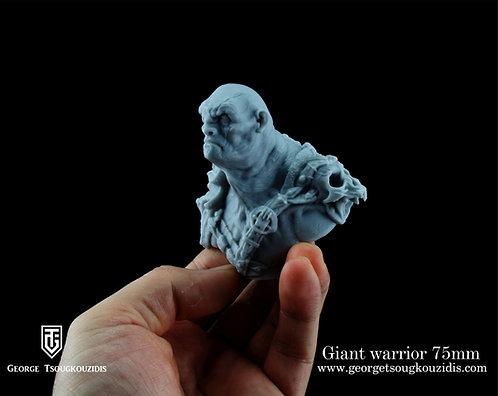 Giant Warrior 75mm
