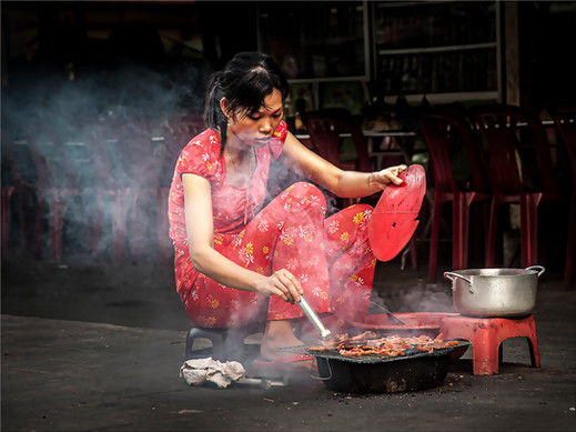 Cooking on the Street