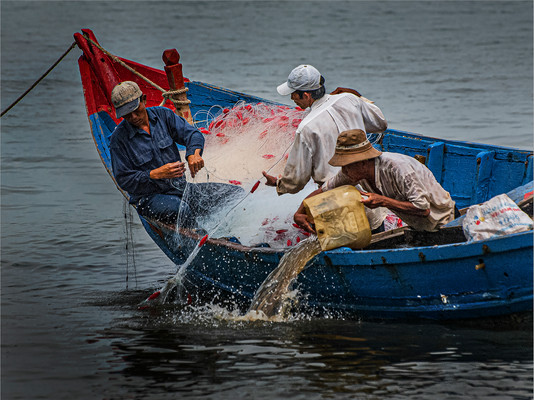 Fishing at Vung Tau