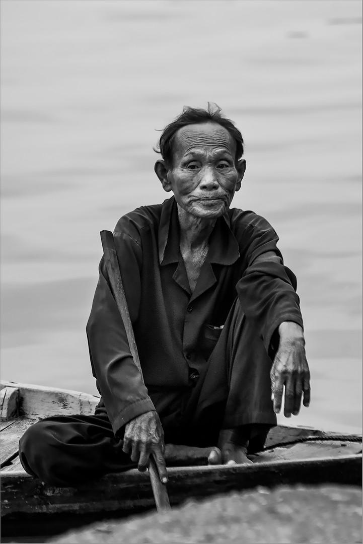 Hoi An Boatman #1