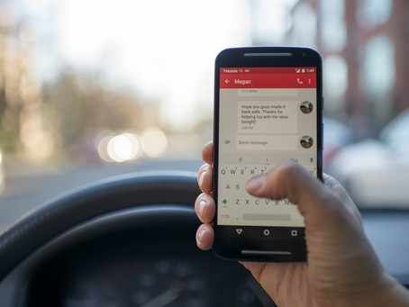 Mobile Phones and Driving – The Legal Position