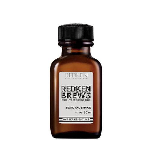 REDKEN BREWS STYLING Beard and Skin Oil 30ML