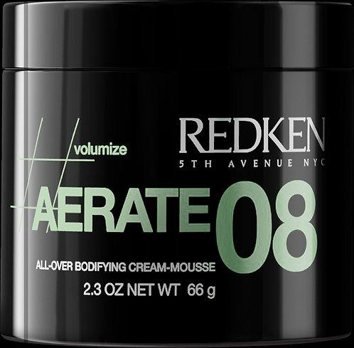 REDKEN Aerate 08 Bodifying Cream-Mousse 66g