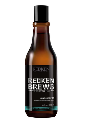 REDKEN BREWS HAIRCARE Mint Shampoo 300ML