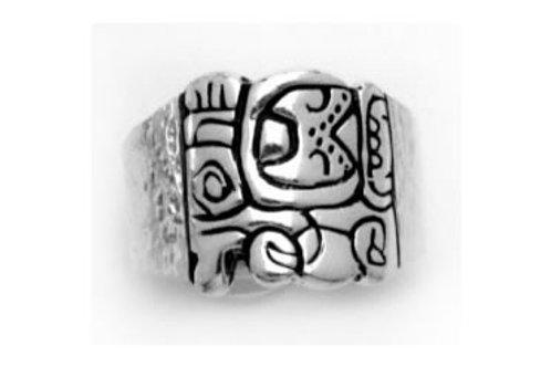 Glifo: anillo de plata