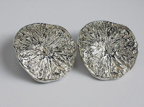 Limón: aretes de plata
