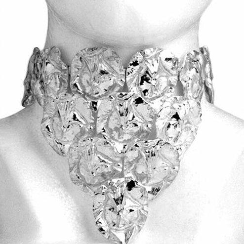 Corteza: pectoral de plata