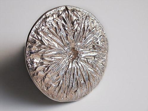 Limón: broche de plata