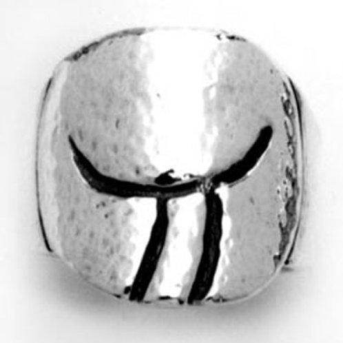 Tauro: anillo, aretes o mancuernillas de plata